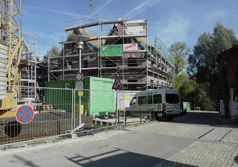 Baustelle Balingen
