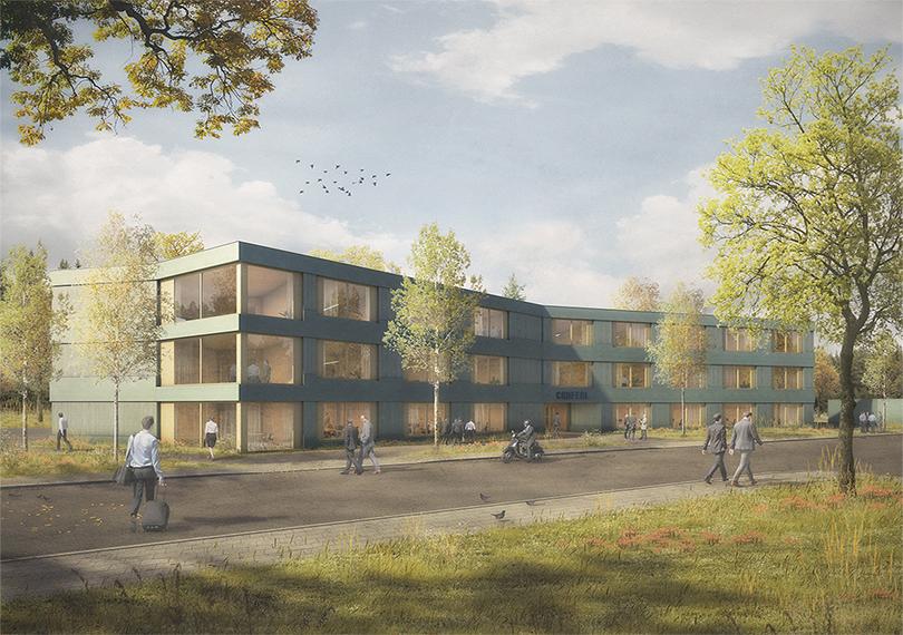 Bürogebäude in Holzbauweise beauftragt