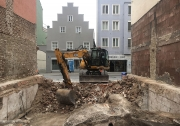 Baustelle Stadthaus Donaustraße