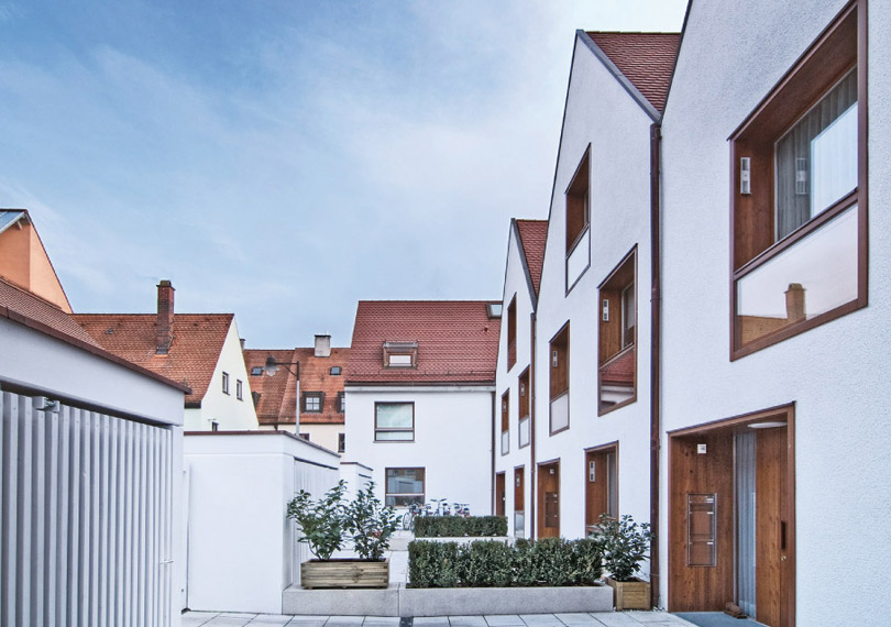 Stadthäuser Griesbadgasse