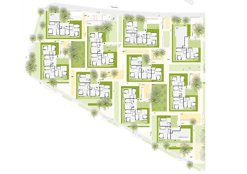 Wohnüberbauung Peisserstraße