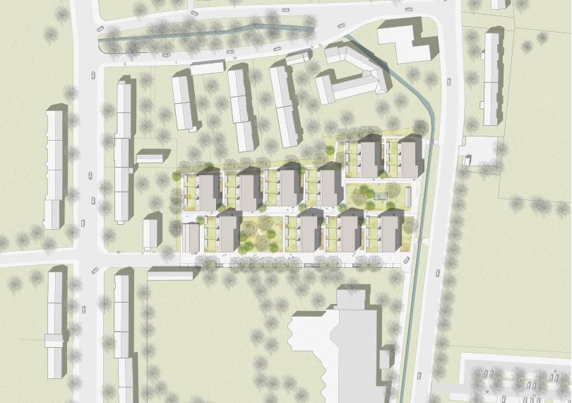 Siedlung Brüx